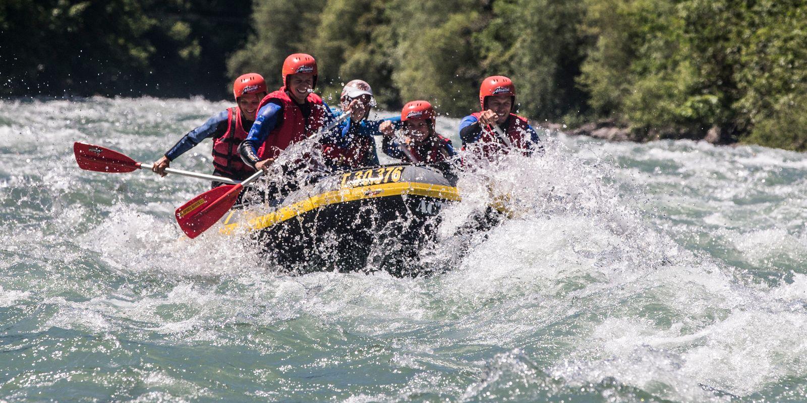 Rafting | Archiv TVB Mayrhofen©Dominic Ebenbichler
