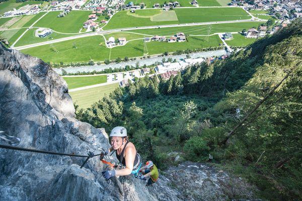 Via ferrata | Archive TVB Mayrhofen©Dominic Ebenbichler