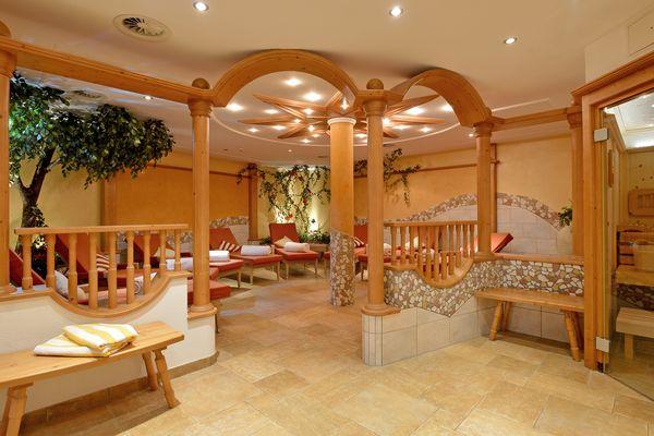 Wellness & spa area in Apparthotel Ederfeld