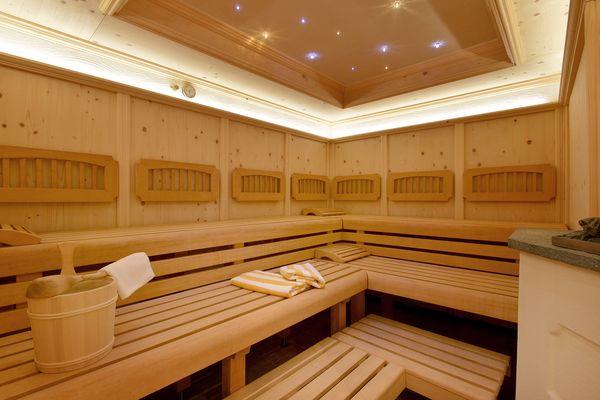 Cozy Finnish sauna