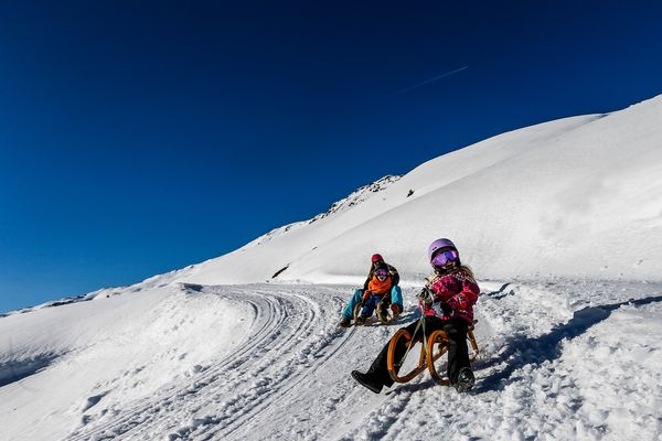 Tobogganing with the family | Archive TVB Mayrhofen©Dominic Ebenbichler
