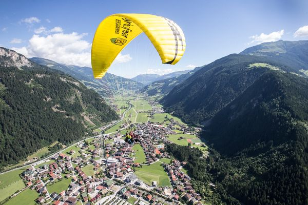 Paragliding | Archive TVB Mayrhofen©Dominic Ebenbichler