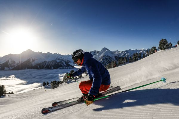 Skiing in the Zillertal | Archive TVB Mayrhofen©Dominic Ebenbichler