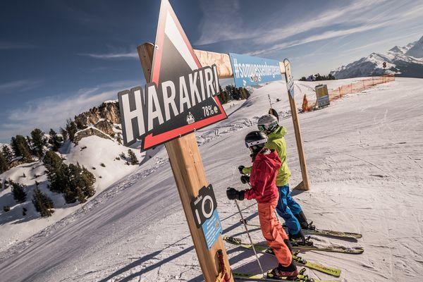 Harakiri- Austria's steepest ski run | Archive TVB Mayrhofen©Dominic Ebenbichler